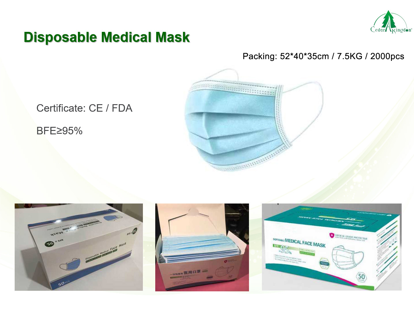 Disposable-Medical-Mask