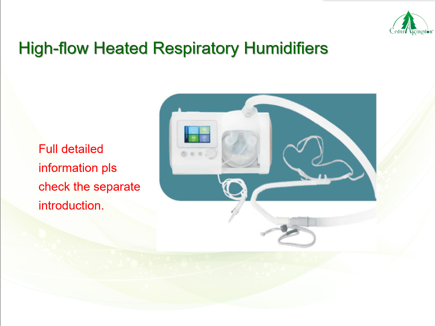 High-flow-Heated-Respiratory-Humidifiers